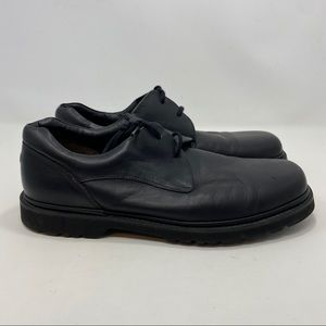 RockPort Men's Black leather Lace Up Shoes Size 11